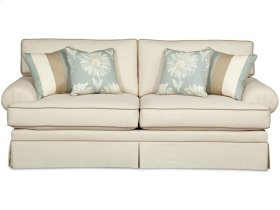 Craftmaster Living Room Stationary Sofas, Two Cushion Sofas