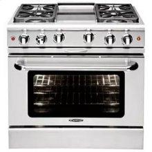 """Culinarian 36"""" Gas Manual Clean Range"""
