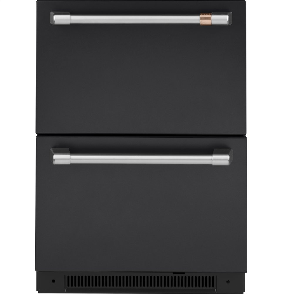 Caf(eback) 5.7 Cu. Ft. Built-In Dual-Drawer Refrigerator