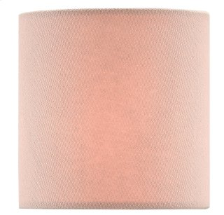 Pink Blush Cotton Shade - 4 x 4 x 4