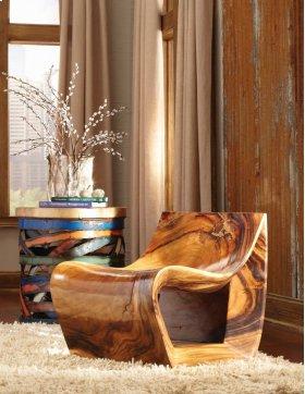 Smooth Chamcha Wood Chair