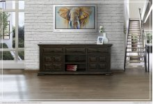 "72"" TV Stand w/ 3 Drawer & 2 wooden Doors"