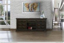 "72"" TV Stand w/ 3 Drawer & 2 wooden Doors"