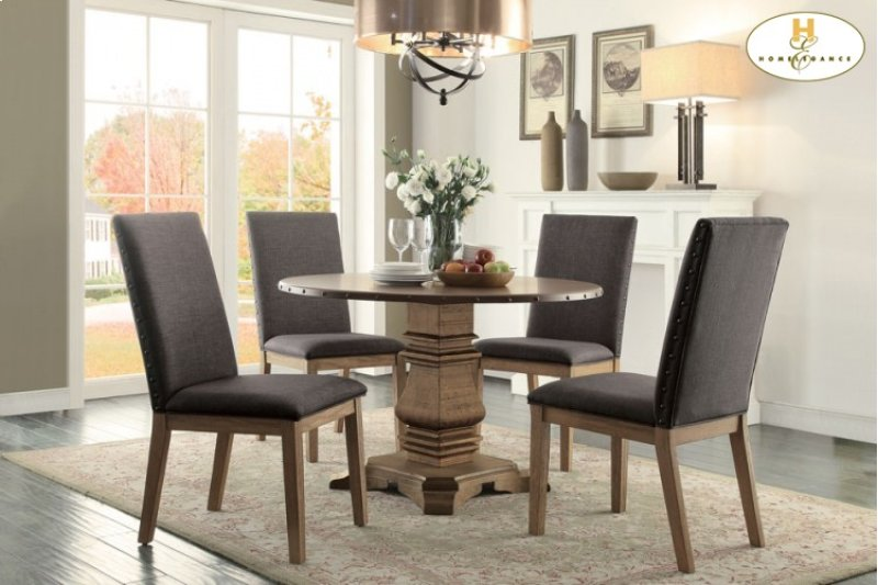 Hidden Additional Round Dining Table