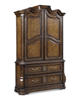 Continental Armoire - Weathered Nutmeg