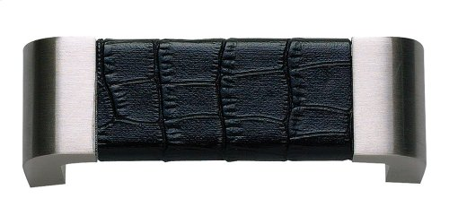 Paradigm Pull 3 Inch (c-c) - BN & Black Croc Leather