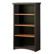 4-Shelf Bookcase - Ebony