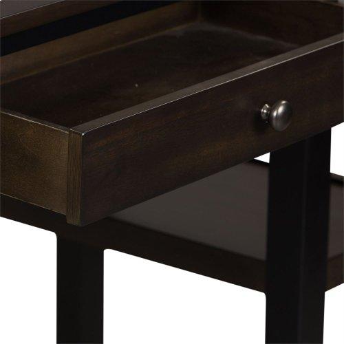 3 Piece Counter Set - Black & Chestnut