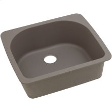 "Elkay Quartz Classic 25"" x 22"" x 8-1/2"", Single Bowl Drop-in Sink, Greige"