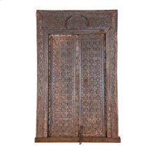 Antique Reclaimed Doors With Frame Ue22