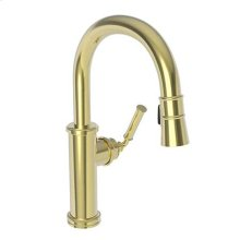 Forever Brass - PVD Prep/Bar Pull Down Faucet