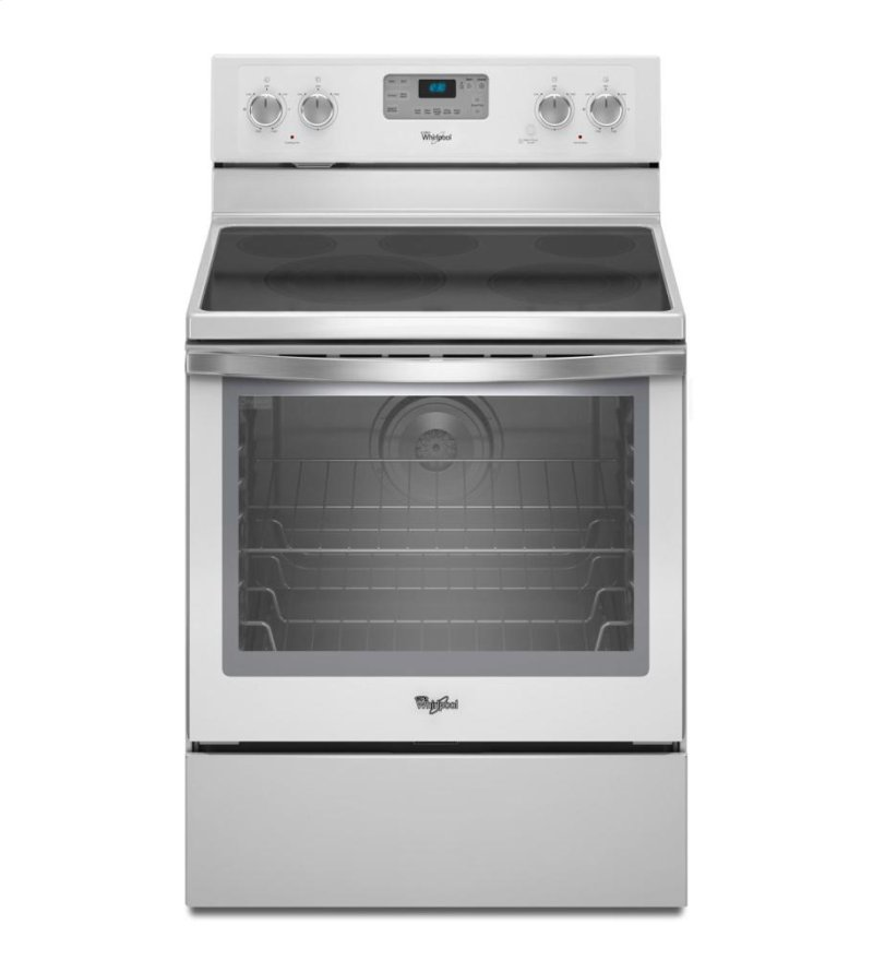 Capacity Electric Range With Aqualift Self Clean Technology