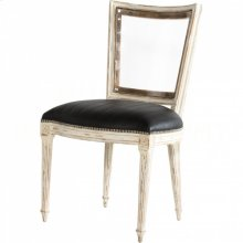Marie-Antoinette Black Chair