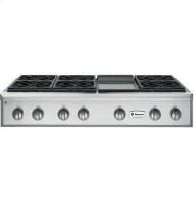 """48"""" Pro Rangetop with Griddle"""