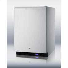 Frost-free Outdoor All-freezer In Complete Stainless Steel, W/digital Thermostat, LED Lighting, Horizontal Handle, and Lock; Built-in or Freestanding