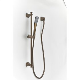Slide Bar with Hand Shower Leyden (series 14) Bronze
