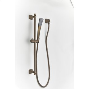 Slide Bar With Hand Shower Leyden Series 14 Bronze