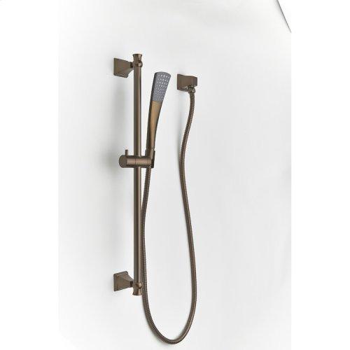 Slide Bar With Hand Shower Leyden Series 14 Bronze