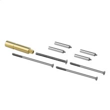 """Extension kit 2"""" only for high flow thermostatic mixer"""