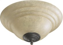 AMBR STONE CFL BWL-TS/OW