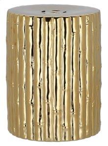 Bamboo Garden Stool - Gold