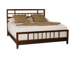 Slat King Bed Complete