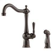 Single-handle Faucet With Side Sprayer