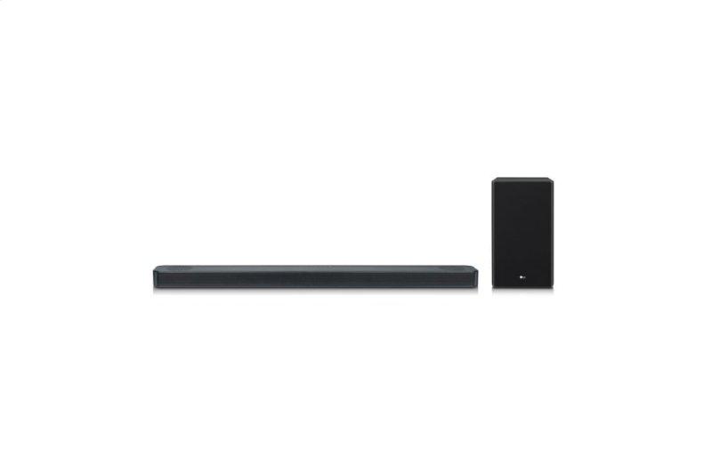 LG SL8Y 3 1 2 Channel Sound Bar w/ Meridian Technology & Dolby Atmos