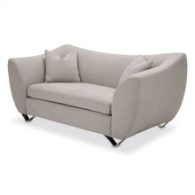 Quantum Loveseat Stainless Steel