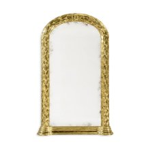 Carved and Water Gilded Hanging Wall Mirror