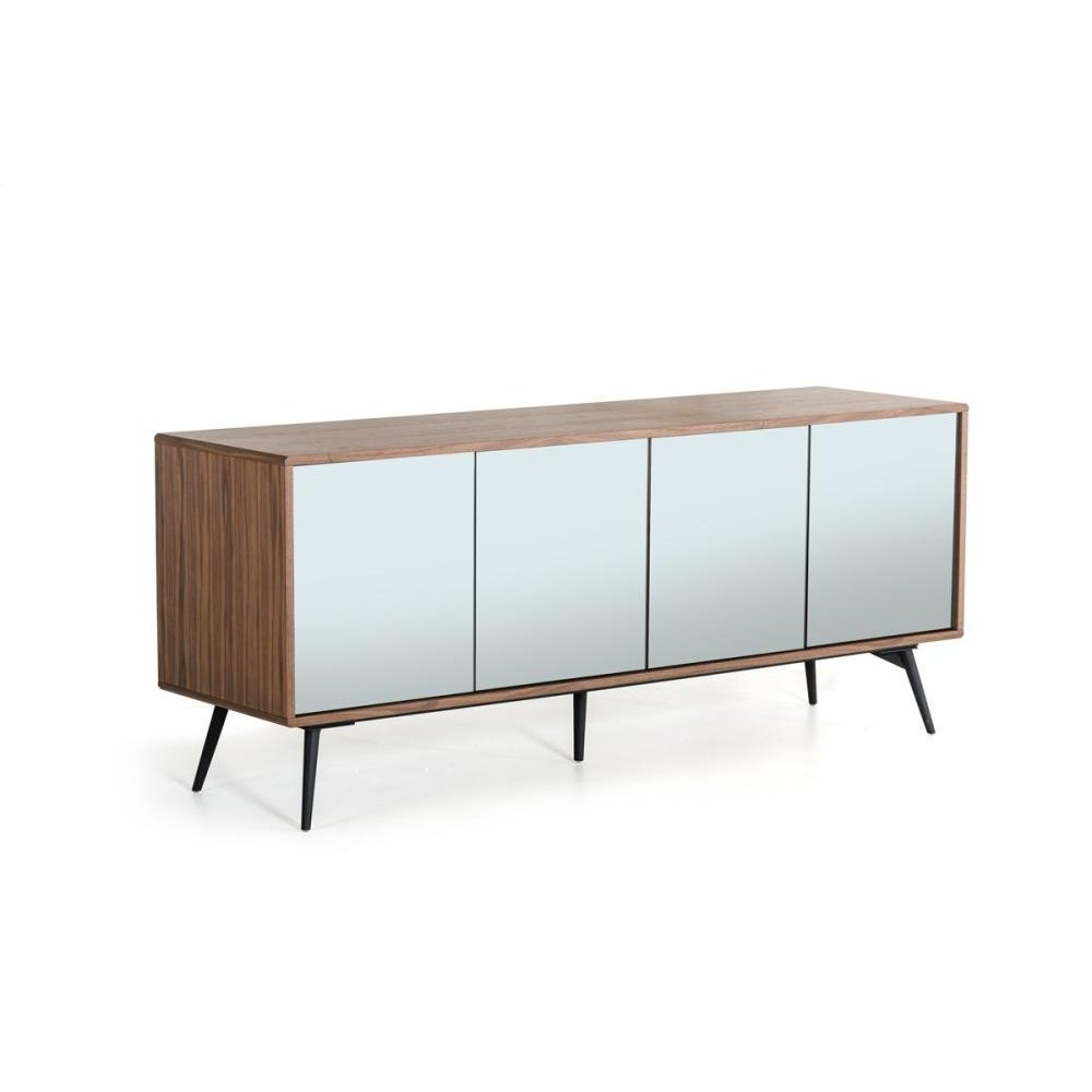 Modrest Kennedy Modern Walnut Buffet