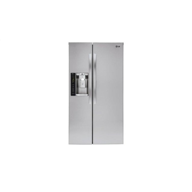 LG Appliances 22 cu. ft. Smart wi-fi Enabled Side-by-Side Counter-Depth Refrigerator