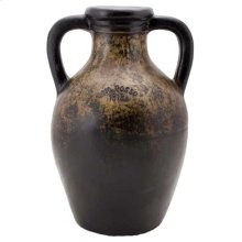 Antique Black Vine Jar