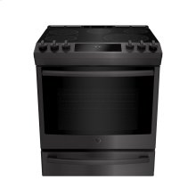 Slide In Front Control Electric 6.3 cu ft Self-Cleaning Range