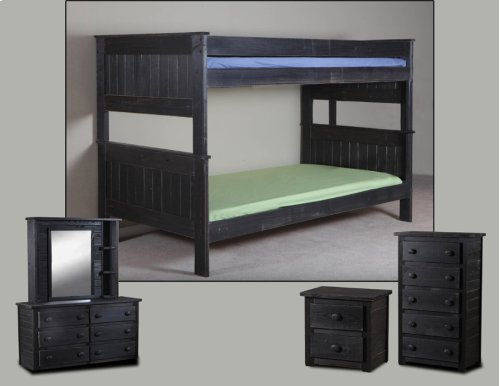Blk4013xl In By Pine Crafter Furniture In Savannah Tn Twin Twin