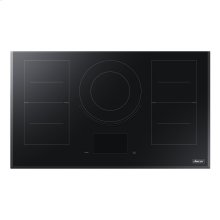 "36"" Induction Cooktop, Black Glass"