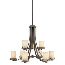 Hendrik 9 Light Chandelier Olde Bronze®