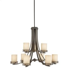 Hendrik 9 Light Chandelier Olde Bronze®