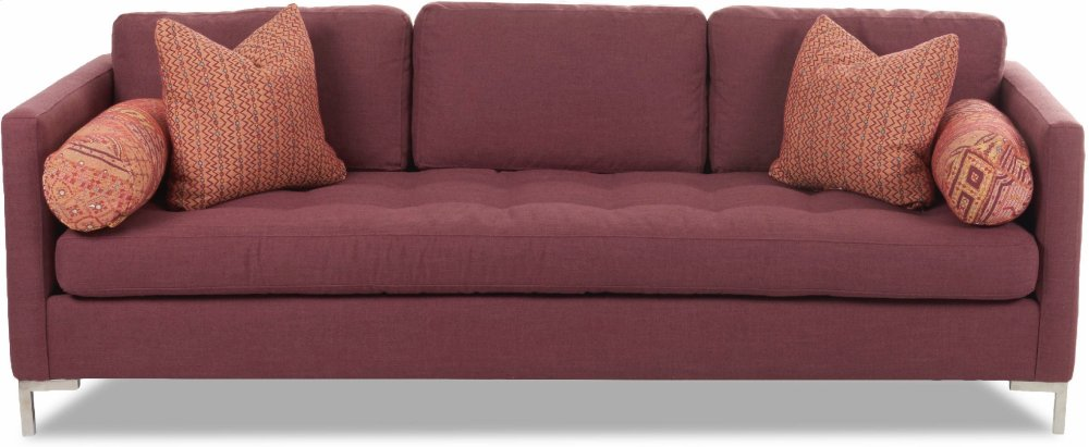 Wondrous D69500Sklaussner One Cushion Sofa Kings Great Buys Plus Andrewgaddart Wooden Chair Designs For Living Room Andrewgaddartcom