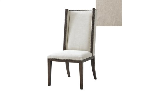 Shard End Dining Chair, #plain# - Dark Echo Oak