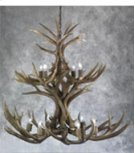 13 Light 2 Tier Mule Deer Chandelier Product Image
