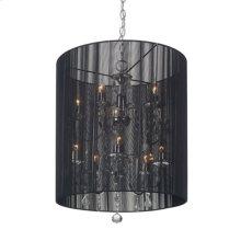 Whitney Ceiling Lamp Black