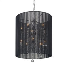 Whitney Ceiling Lamp Black
