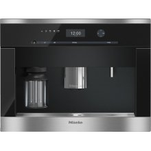 CVA 6405 Built-in coffee machine with bean-to-cup system and OneTouch for Two for perfect coffee enjoyment.