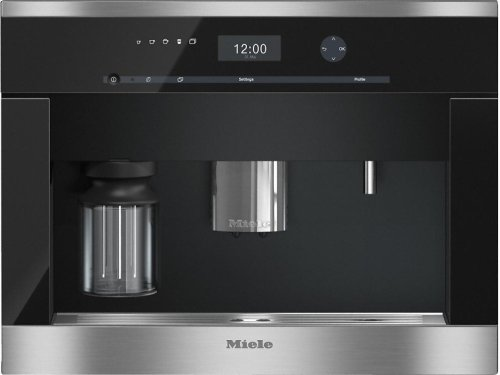 CVA 6401 Built-in coffee machine with bean-to cup system and OneTouch for Two prep. for perfect coffee enjoyment.