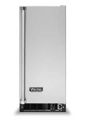 """Metallic Silver 15"""" Solid Door Wine Cellar - VUWC (Solid door (right-hinge))"""