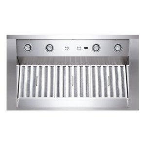 """Classico - 42"""" Stainless Steel Pro-Style Range Hood with internal/external blower options"""