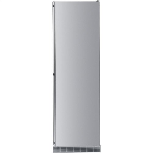 "24"" Built-in Refrigerator/BioFresh Stainless Door right hinge, stainless"