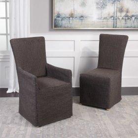 Carlise, Armless Chair - 2 Per Box
