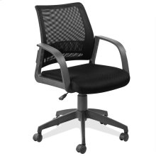 Black Mesh Back Office Chair #10066BL